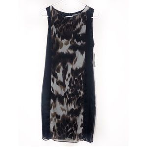 Zara | Animal Printed Midi Dress